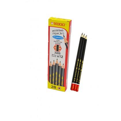 Nikki 2B Pencil 12's
